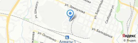 Камкор вагон на карте Алматы