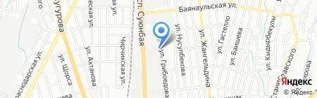 Алпроф на карте Алматы