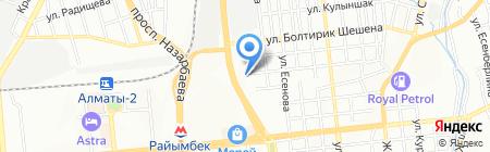 БИКО на карте Алматы