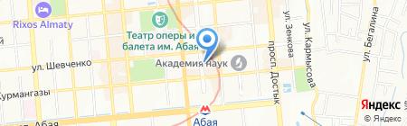 КАГИР на карте Алматы
