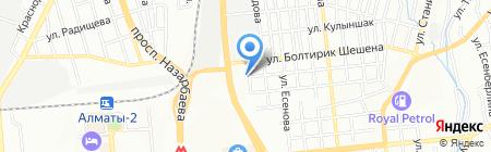 MegaLis на карте Алматы