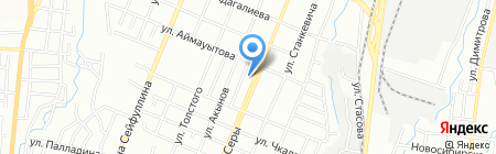 GRETA на карте Алматы