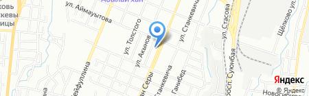 Ашот на карте Алматы