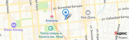 Deta Tour на карте Алматы