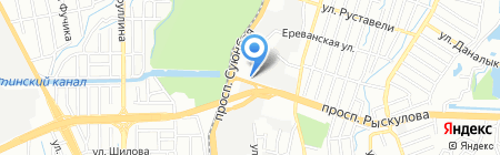 Производственно-сервисная компания на карте Алматы