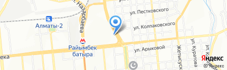 Львёнок на карте Алматы
