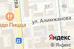 Схема проезда до компании Фотостудия Александра Ергазина в Алматы