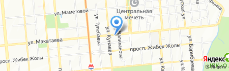 Оптика на карте Алматы