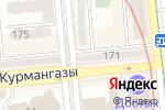 Схема проезда до компании Hearts of four в Алматы