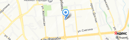 Коргау Кызмети на карте Алматы