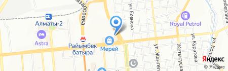 La Crepe на карте Алматы