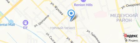 ART Фабрика на карте Алматы