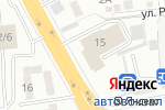 Схема проезда до компании Caspian Motors в Алматы