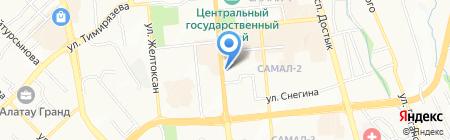 Cartier на карте Алматы