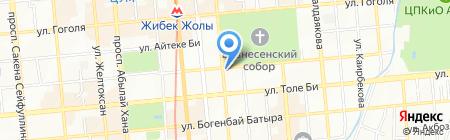 Гости на карте Алматы