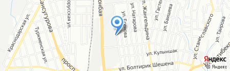 Волковгеология АО на карте Алматы