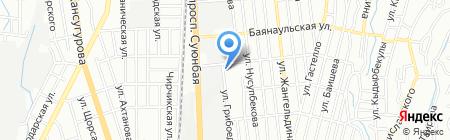 SEMIRAMIDA на карте Алматы