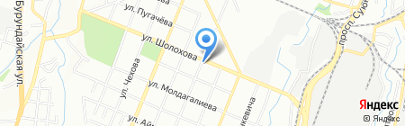 Антарес Стемпс на карте Алматы