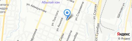 Ак Жол на карте Алматы