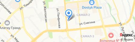 Почтовое отделение связи №59 на карте Алматы