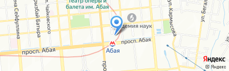 S-Water на карте Алматы