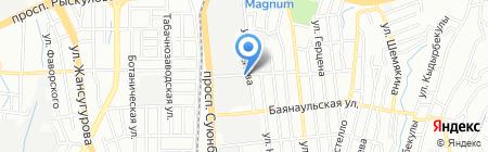 Ай-Ван на карте Алматы