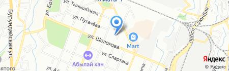 Caravan-Trade ТОО на карте Алматы