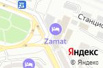 Схема проезда до компании Шарис в Алматы