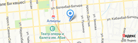 Мега Сервис на карте Алматы