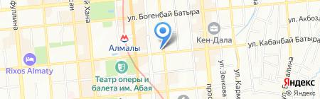 Vizit на карте Алматы
