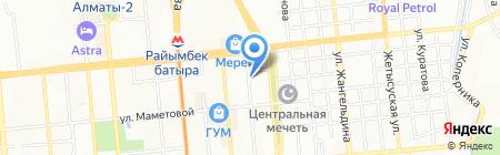 Макпал на карте Алматы