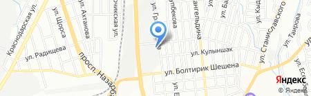 Juldyz Kenan Co LTD на карте Алматы