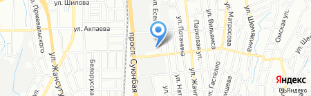 Jeep Service на карте Алматы