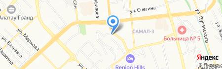 Interteach АО на карте Алматы