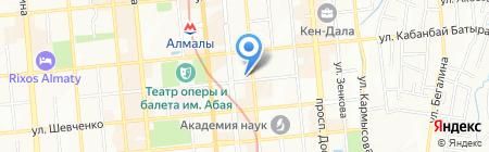 Rivoli на карте Алматы