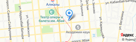 Sabo на карте Алматы