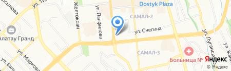 CDС-2 на карте Алматы