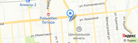 Тулпар на карте Алматы
