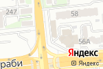 Схема проезда до компании Ericsson Kazakhstan в Алматы