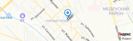 DIGIS на карте Алматы