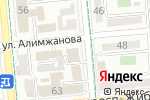 Схема проезда до компании МЕРЕЙ в Алматы