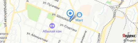 Империя на карте Алматы