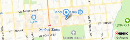 Plus+ на карте Алматы