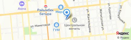 Автосфера-А на карте Алматы