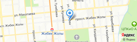COMFORT TRANS на карте Алматы
