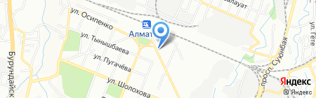 Лина на карте Алматы