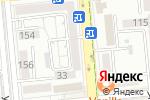 Схема проезда до компании ht.kz в Алматы