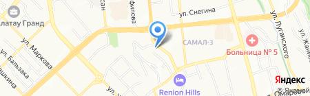 Bank RBK на карте Алматы