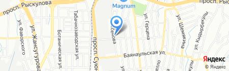 B & B Ltd на карте Алматы