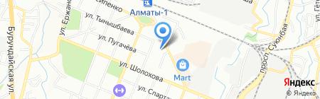 Нотариус Федосеева С.Н. на карте Алматы